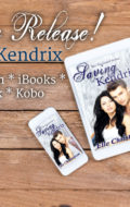 New Release! Saving Kendrix (The Fae Guard, book 5)